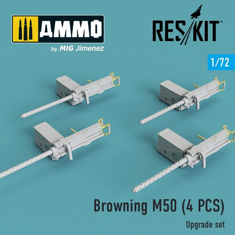 Reskit Browning M50 (4 pcs) - Scale 1/72 - Reskit - RSU72-0018
