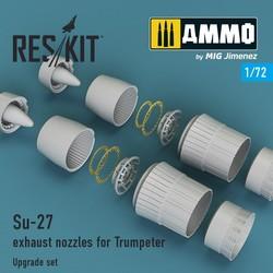 Su-27 exhaust nozzles for Trumpeter - Scale 1/72 - Reskit - RSU72-0014