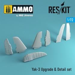 Yak-3 Upgrade & Detail set - Scale 1/72 - Reskit - RSU72-0003