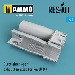 Eurofighter open exhaust nozzles for Revell Kit - Scale 1/72 - Reskit - RSU72-0108