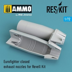 Eurofighter closed exhaust nozzles for Revell Kit - Scale 1/72 - Reskit - RSU72-0107