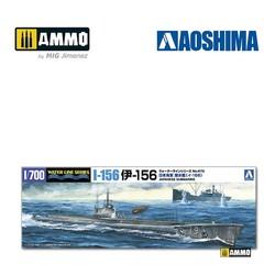 IJN Submarine I-156 - Scale 1/700 - Aoshima - AO-058268