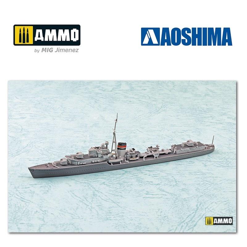 Aoshima HMS Destroyer Jervis - Scale 1/700 - Aoshima - AO-057667