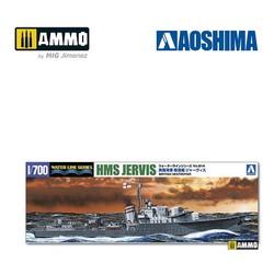HMS Destroyer Jervis - Scale 1/700 - Aoshima - AO-057667
