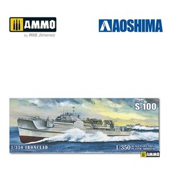 S-Boat S-100 - Scale 1/350 - Aoshima - AO-056592