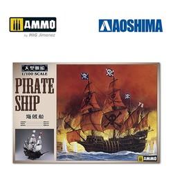 Pirate Ship - Scale 1/100 - Aoshima - AO-055007