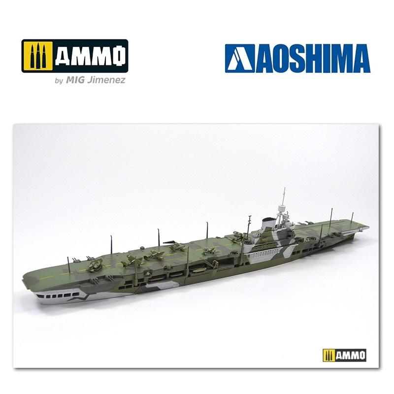 Aoshima British Aircraft Carrier HMS Victorious - Scale 1/700 - Aoshima - AO-051061