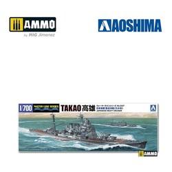 IJN Heavy Cruiser Takao (1944 - Leyte Gulf) - Scale 1/700 - Aoshima - AO-045367
