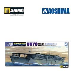 IJN Aircraft Carrier Unyo - Scale 1/700 - Aoshima - AO-045220