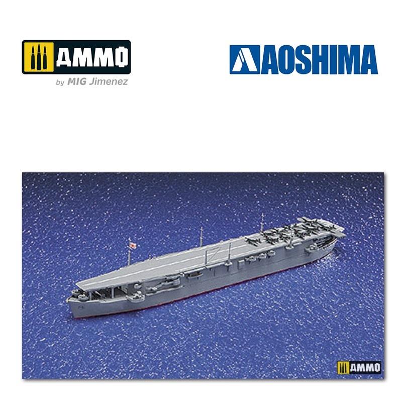 Aoshima IJN Aircraft Carrier Unyo - Scale 1/700 - Aoshima - AO-045220