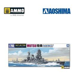 IJN Battleship Mutsu - Scale 1/700 - Aoshima - AO-045091