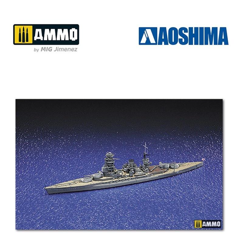 Aoshima IJN Battleship Mutsu - Scale 1/700 - Aoshima - AO-045091
