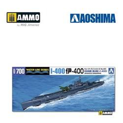 IJN Submarine I-400 - Scale 1/700 - Aoshima - AO-038444