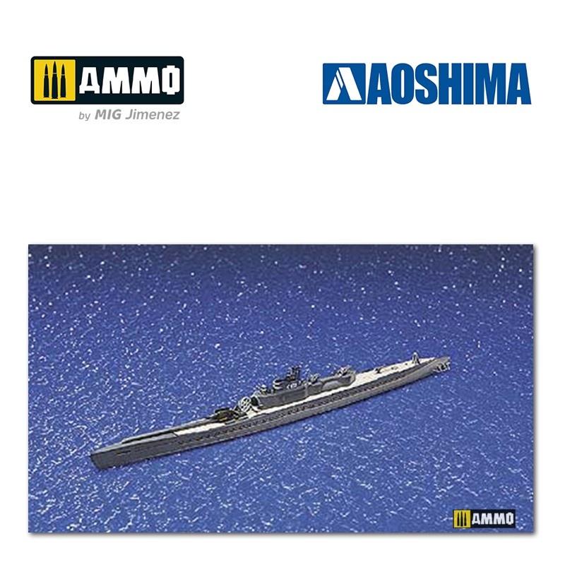 Aoshima IJN Submarine I-400 - Scale 1/700 - Aoshima - AO-038444