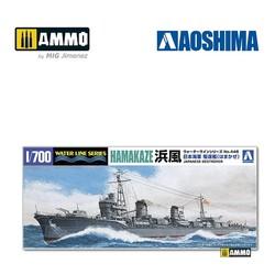 IJN Destroyer Hamakaze (1942) - Scale 1/700 - Aoshima - AO-034088