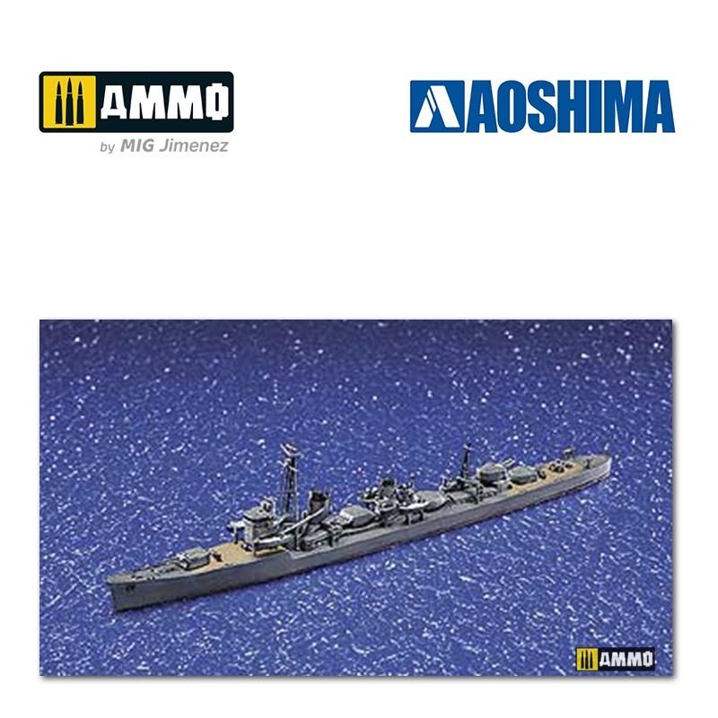 Aoshima IJN Destroyer Hamakaze (1942) - Scale 1/700 - Aoshima - AO-034088