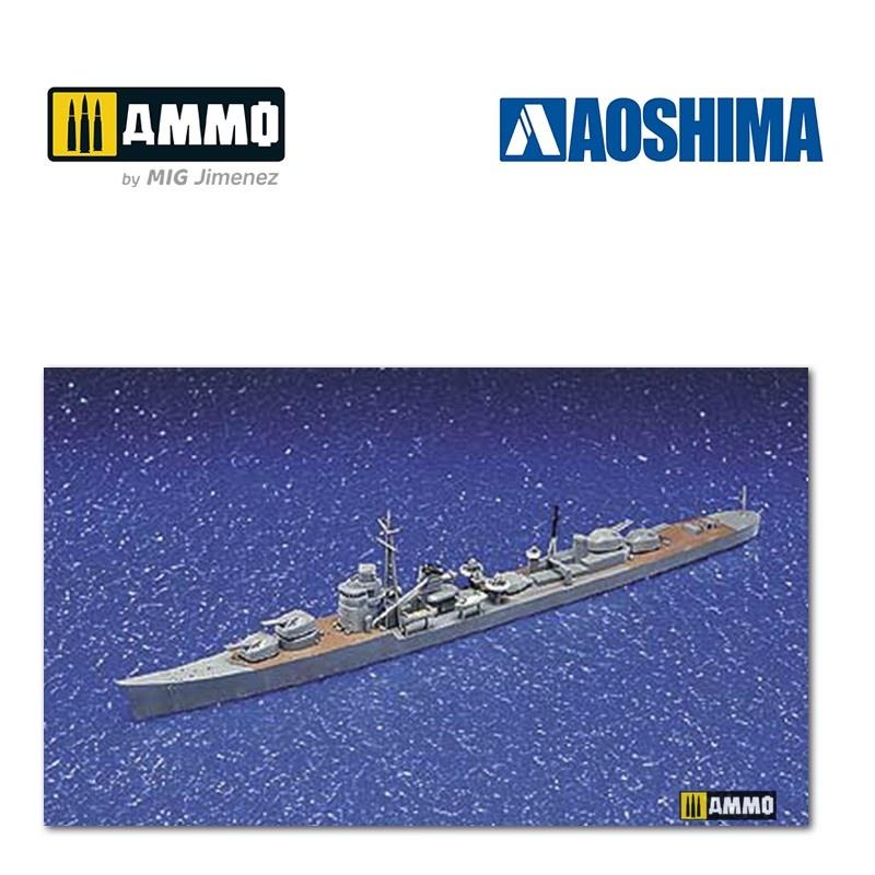 Aoshima IJN Destroyer Teruzuki - Scale 1/700 - Aoshima - AO-016763