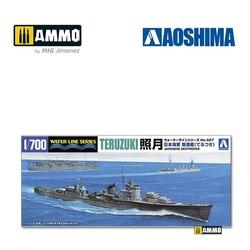 IJN Destroyer Teruzuki - Scale 1/700 - Aoshima - AO-016763