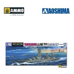 IJN Battleship Yamashiro Retake - Scale 1/700 - Aoshima - AO-002513