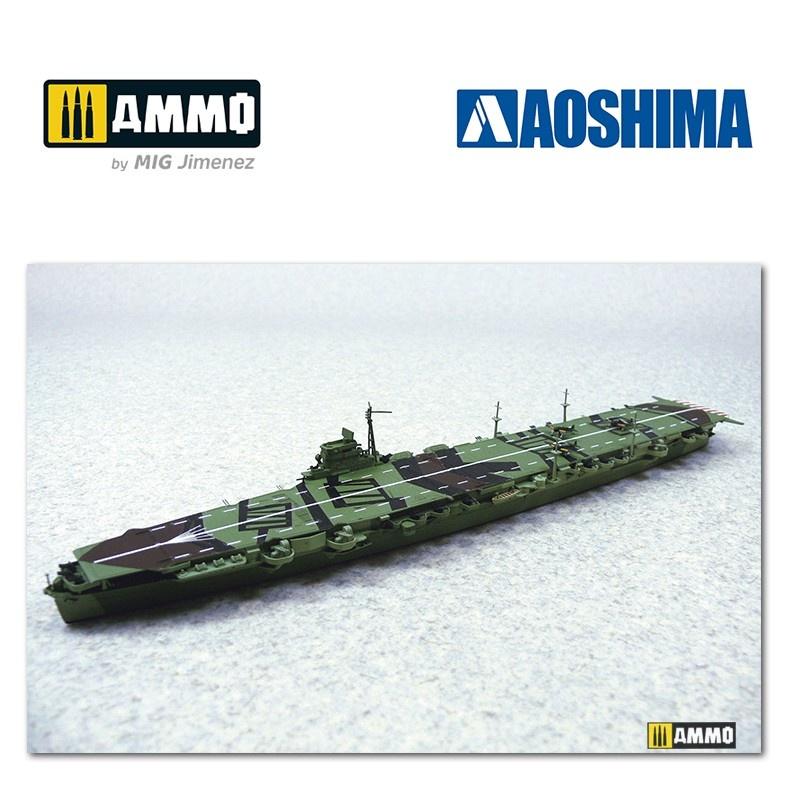 Aoshima IJN Aircraft Carrier Unryu - Scale 1/700 - Aoshima - AO-000991