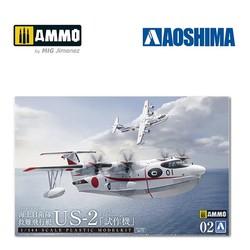 "JMSDF Rescue Flyingboat US-2 ""Prototype"" - Scale 1/144 - Aoshima - AO-057629"