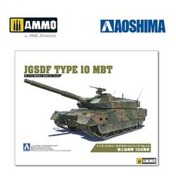 JGSDF Type 10 MBT - Scale 1/72 - Aoshima - AO-054314