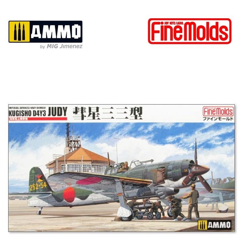 "Fine Molds IJN Carrier Bomber D4Y3 ""Judy"" - Scale 1/48 - Fine Molds - FMFB7"