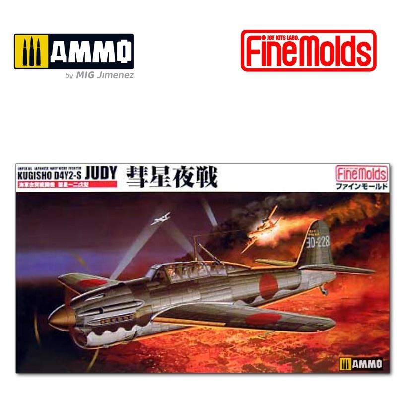"Fine Molds IJN D4Y2-s ""Judy"" Night Fighter - Scale 1/48 - Fine Molds - FMFB5"