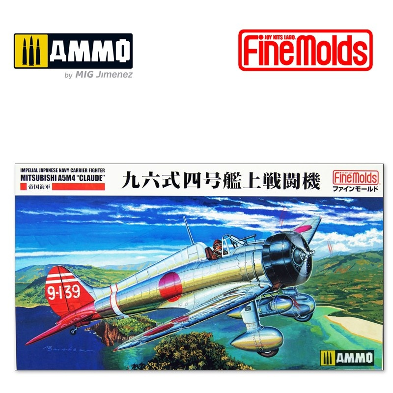 Fine Molds IJN A5M4 Claude Type 96 Carrier Fighter Model 4 - Scale 1/48 - Fine Molds - FMFB21