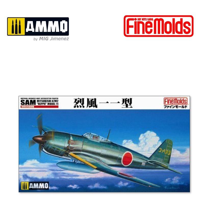 "Fine Molds IJN Mitsubishi A7M2 Reppu ""Sam"" - Scale 1/48 - Fine Molds - FMFB12"