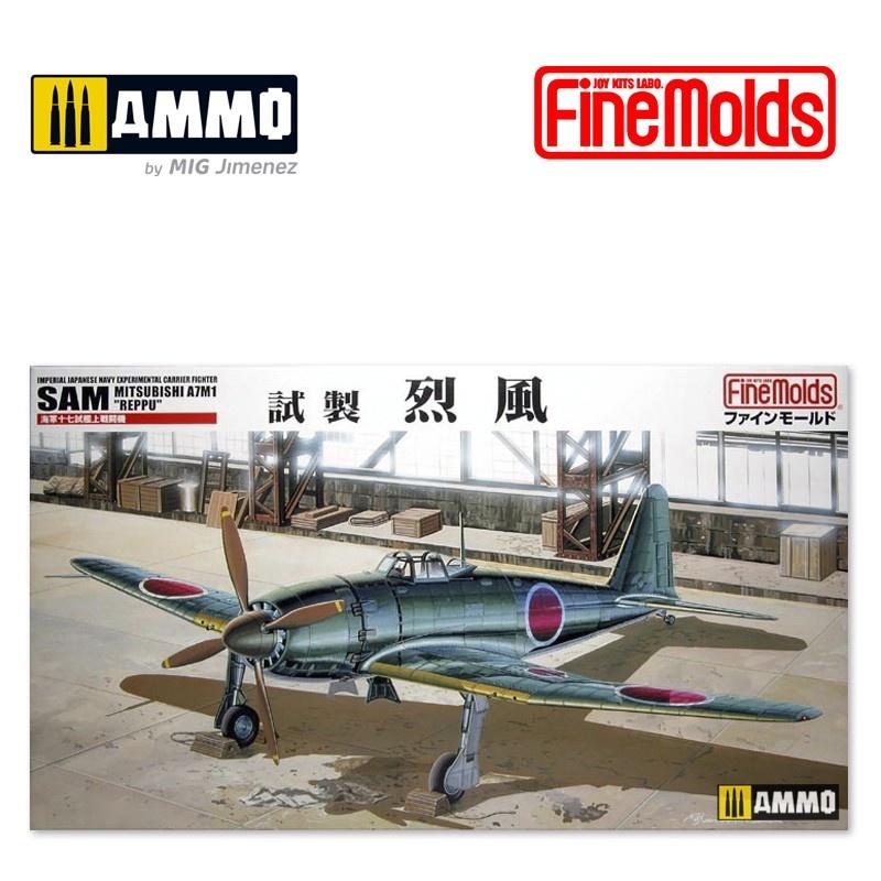 "Fine Molds IJN Mitsubishi A7M1 Reppu ""Sam"" - Scale 1/48 - Fine Molds - FMFB11"