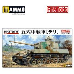 "IJA Medium Tank Type 5 ""Chi-Ri"" - Scale 1/35 - Fine Molds - FMFM28"