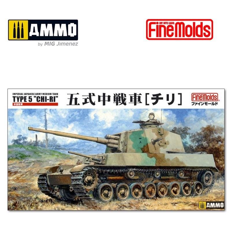 "Fine Molds IJA Medium Tank Type 5 ""Chi-Ri"" - Scale 1/35 - Fine Molds - FMFM28"