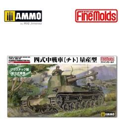"IJA Medium Tank Type4 ""CHI-TO"" Planned production Ver. - Scale 1/35 - Fine Molds - FMFM33"