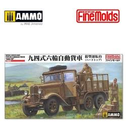 "IJA Type94 6 Wheeled Track ""Hard Top"" - Scale 1/35 - Fine Molds - FMFM30"