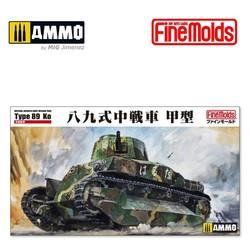 IJA Type 89 Medium Tank Ko - Scale 1/35 - Fine Molds - FMFM56