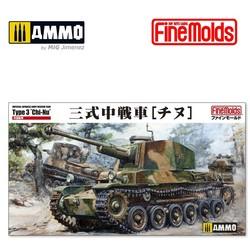 """IJA Type3 Medium Tank """"Chi-Nu"""" - Scale 1/35 - Fine Molds - FMFM55"""