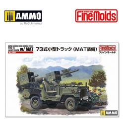 JGSDF Mitsubishi Type 73 Light Truck w/ MAT - Scale 1/35 - Fine Molds - FMFM52