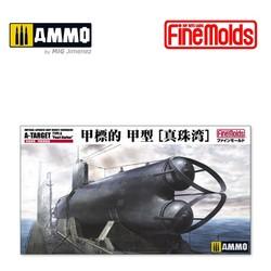 "IJN Midget Submarine A-Target Type A ""Pearl Harbor"" - Scale 1/72 - Fine Molds - FMFS2"