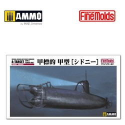"IJN Midget Submarine A-Target Type A ""Sidney Bay"" - Scale 1/72 - Fine Molds - FMFS3"