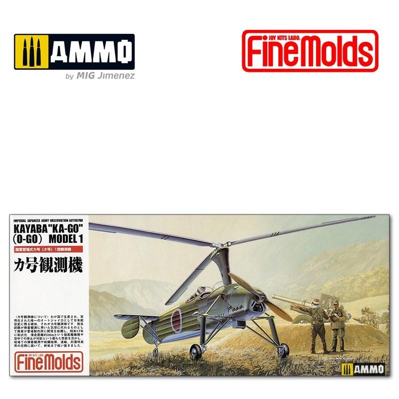 Fine Molds IJA Ka-go (O-go) Autojyro - Scale 1/72 - Fine Molds - FMFP16