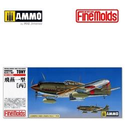 "IJA Kawasaki Type3 Fighter Ki-61-1 Hei ""Tony"" - Scale 1/72 - Fine Molds - FMFP25"