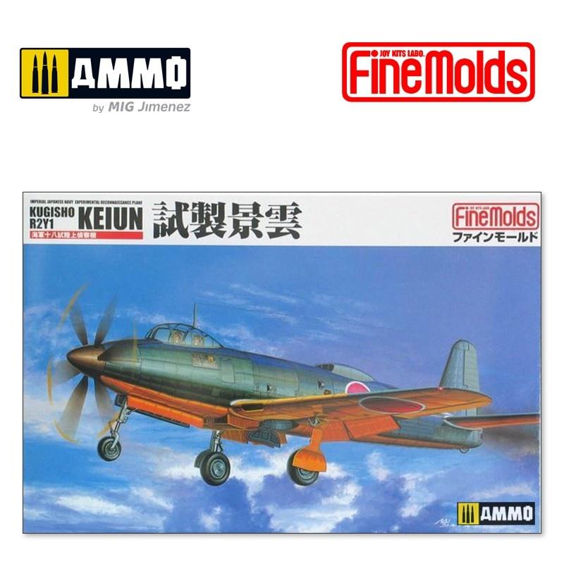 Fine Molds IJN Kugisho R2Y1 l Recconnaisance Plane Keiun - Scale 1/72 - Fine Molds - FMFP23
