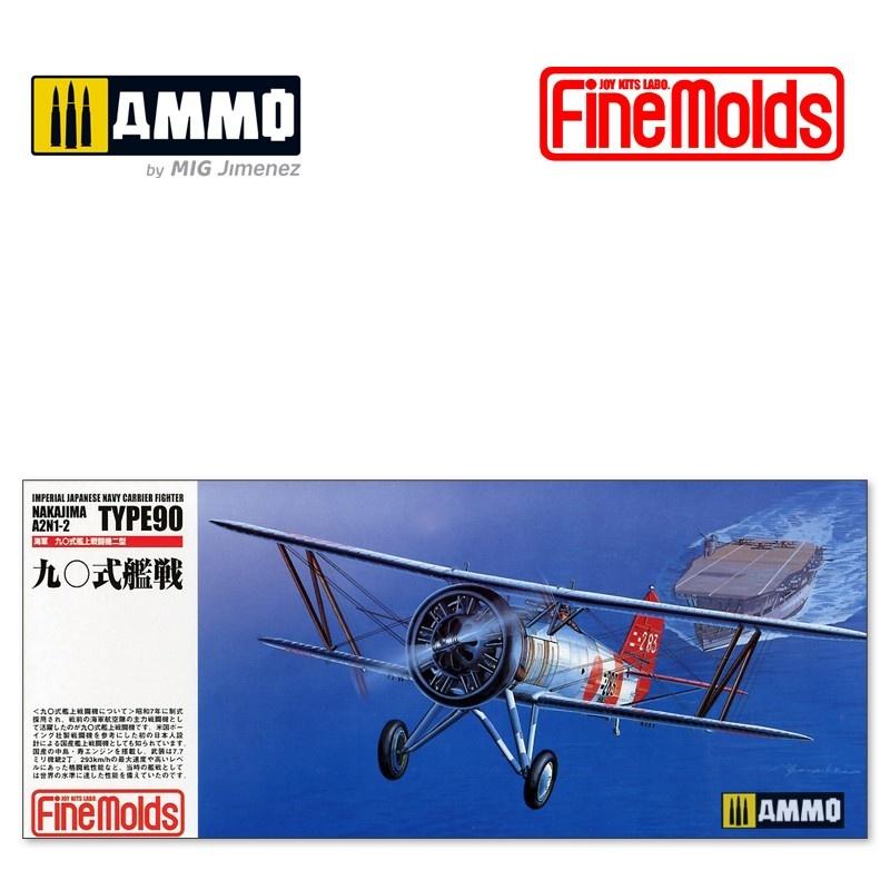 Fine Molds IJN Nakajima Type90 A2N1-2 Carrier Fighter - Scale 1/72 - Fine Molds - FMFP21