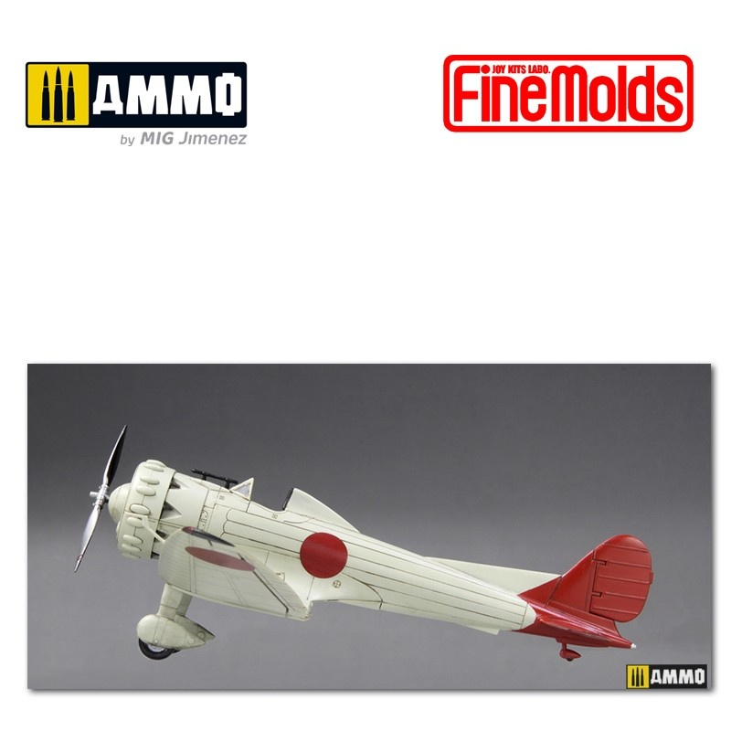 Fine Molds IJN Ka-14 Experimental single seat fighter (Kyu-Shi) - Scale 1/72 - Fine Molds - FMFP33