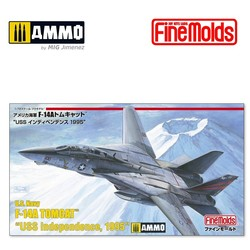 US Navy F-14A Fighter Aircraft (Tomcat) - Scale 1/72 - Fine Molds - FMFP32