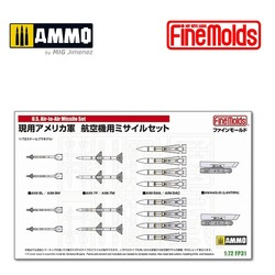US Air-to-Air missile set - Scale 1/72 - Fine Molds - FMFP31