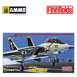 US Navy F-14A Fighter Aircraft (Tomcat) - Scale 1/72 - Fine Molds - FMFP30