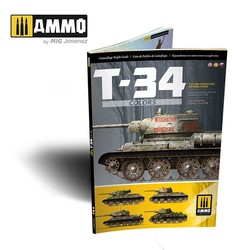 T-34 Colors. T-34 Tank Camouflage Patterns in WWII ENGLISH, SPANISH, RUSSIAN - Ammo by Mig Jimenez - A.MIG-6145