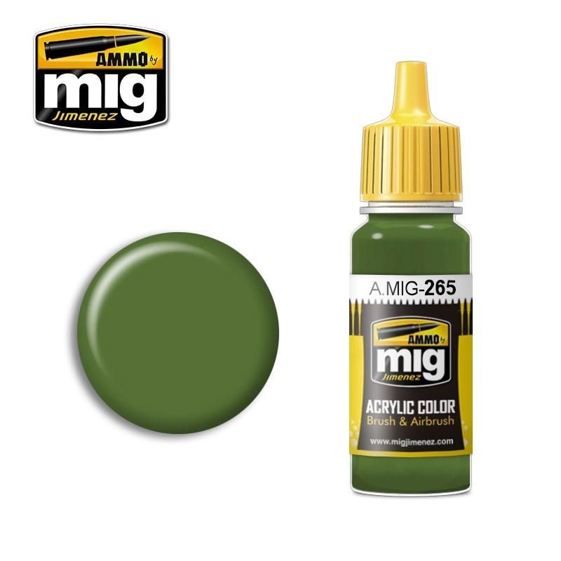 Ammo by Mig Jimenez IJN Mitsubishi Green - 17ml - Ammo by Mig Jimenez - A.MIG-0265